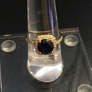 Savvy Cie Jewelry - SAVVY CIE PRONG Set Lab Created Sapphire